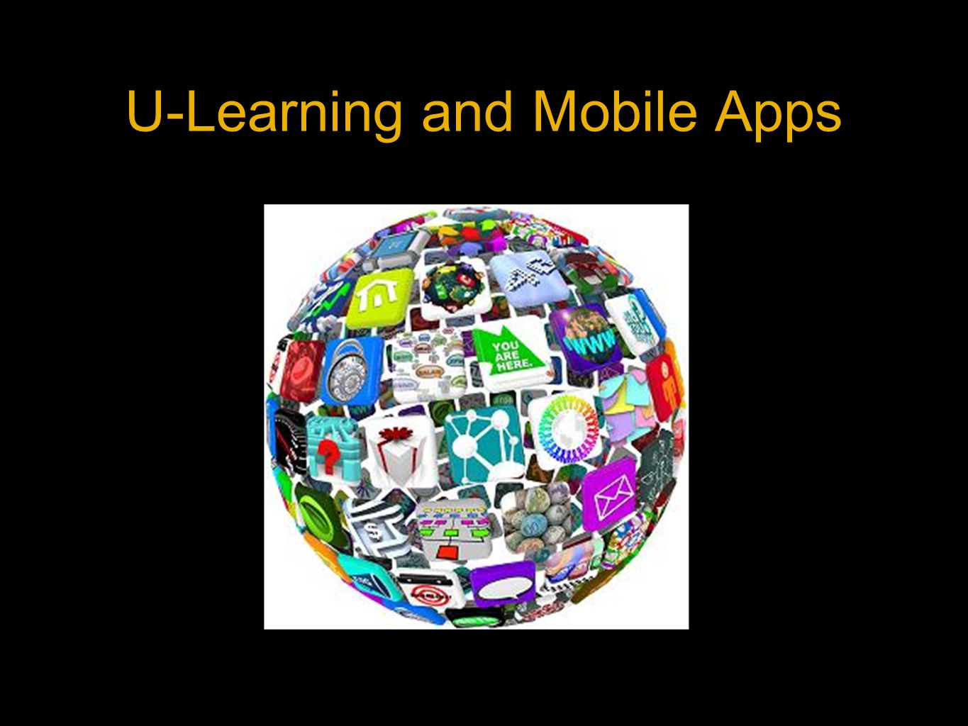 U-Learning and Mobile Apps