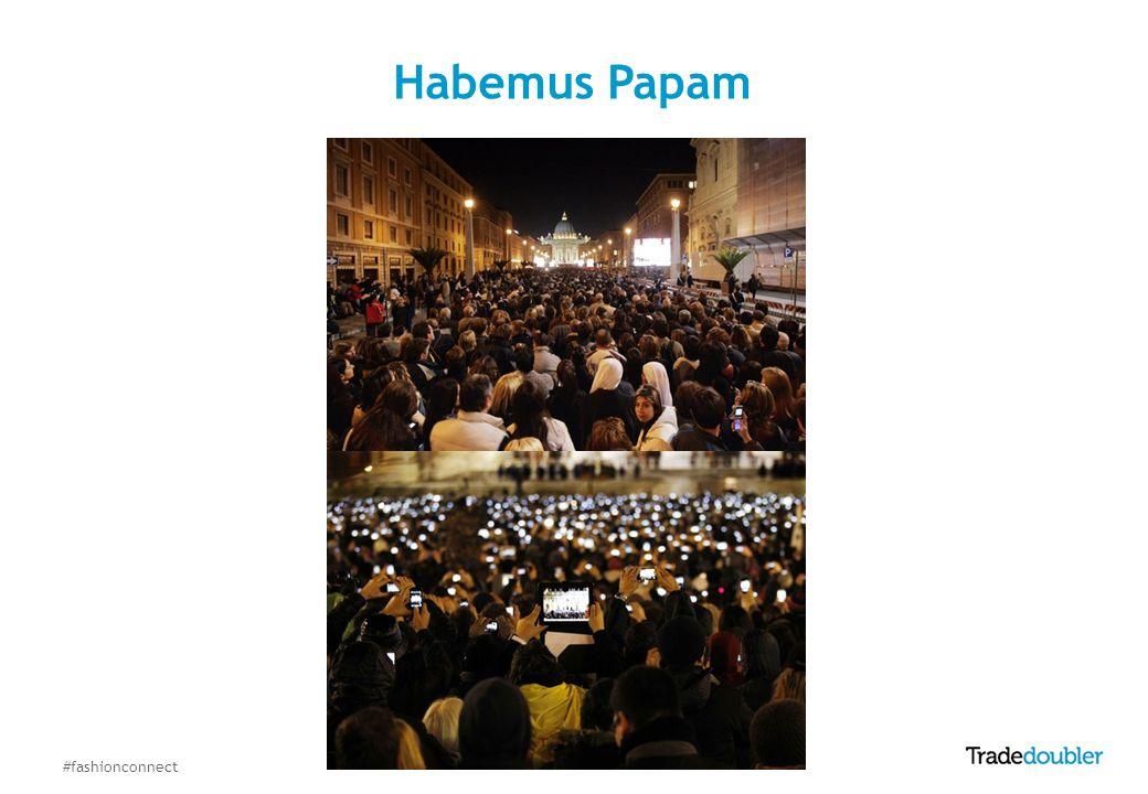 #fashionconnect Habemus Papam