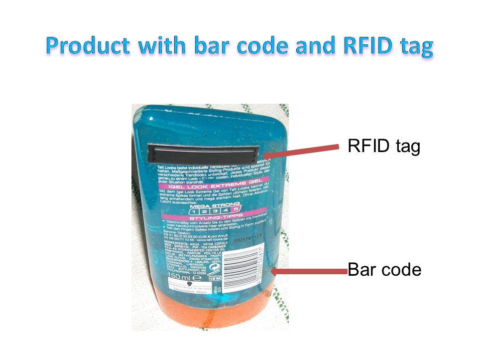 RFID tag Bar code
