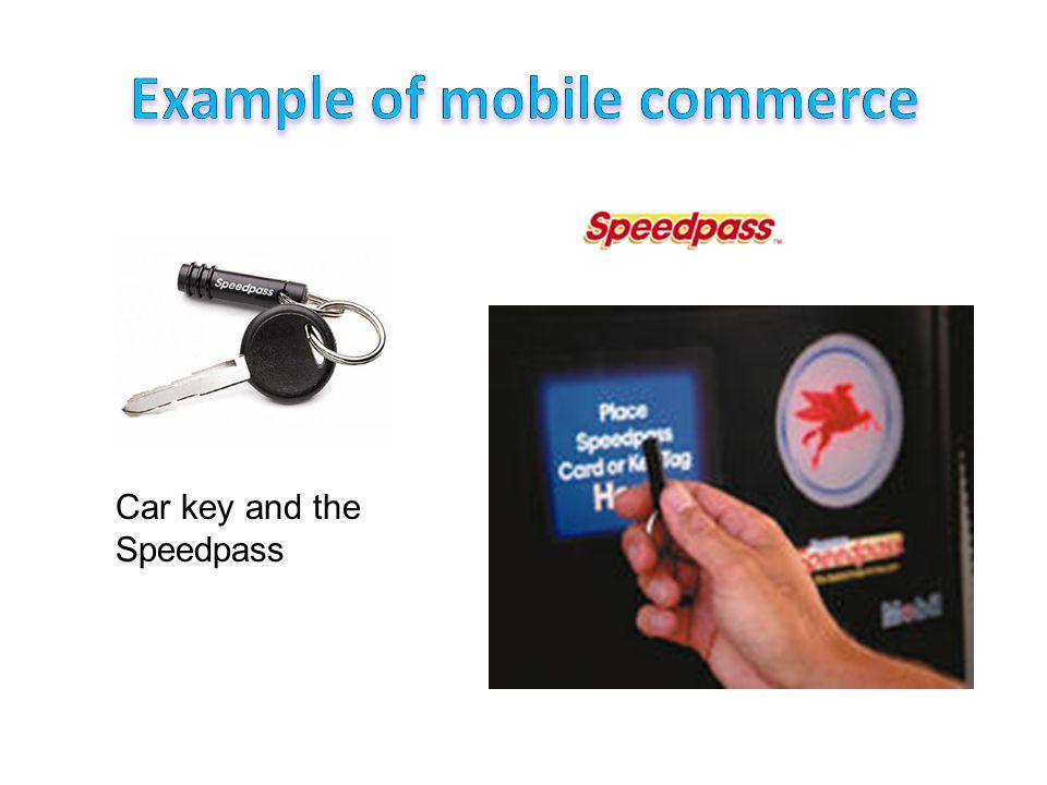 Car key and the Speedpass