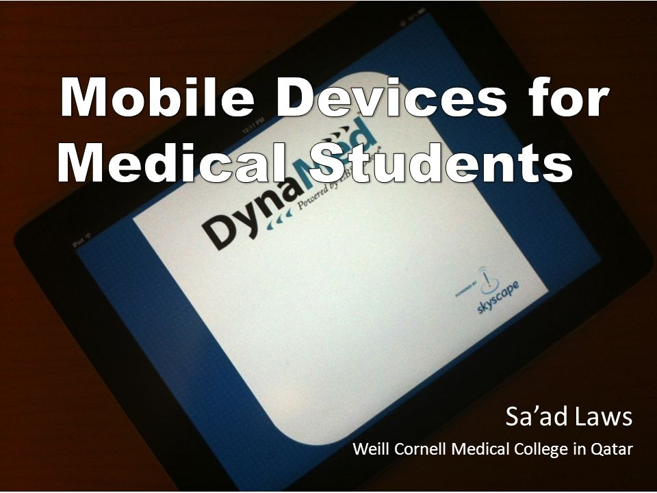 Saad Laws Weill Cornell Medical College in Qatar