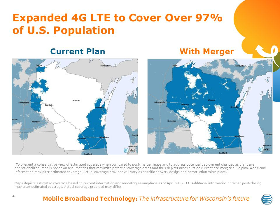 Expanded 4G LTE to Cover Over 97% of U.S.