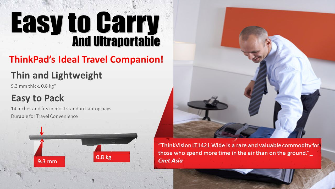 ThinkPads Ideal Travel Companion.