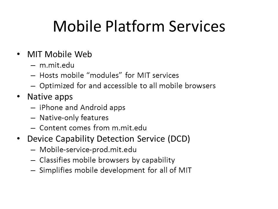 A Brief History of MIT Mobile