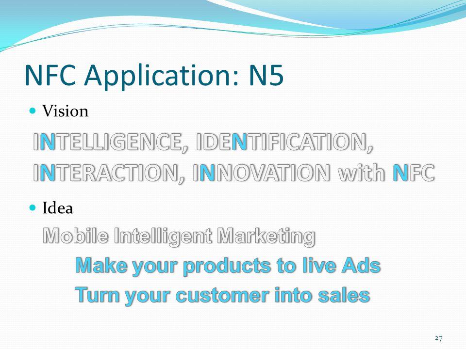 NFC Application: N5 27