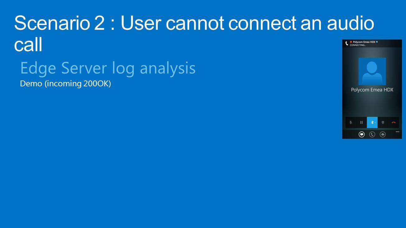 Edge Server log analysis Demo (incoming 200OK)