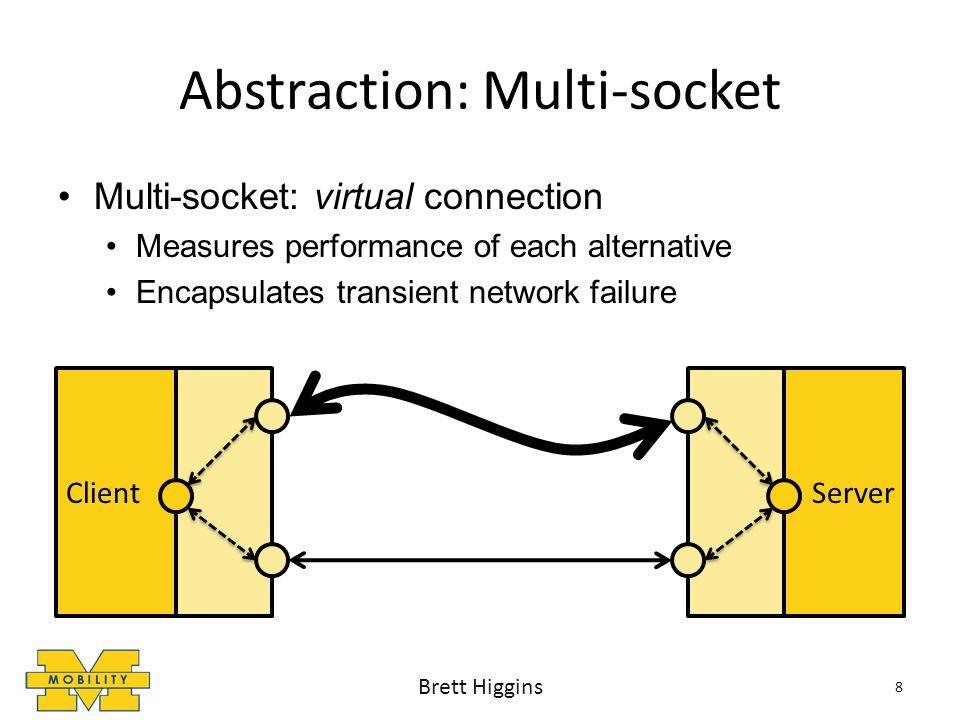 Evaluation Results: Vehicular Sensing Trace #1: Ann Arbor, MI 29 1% 4x Brett Higgins