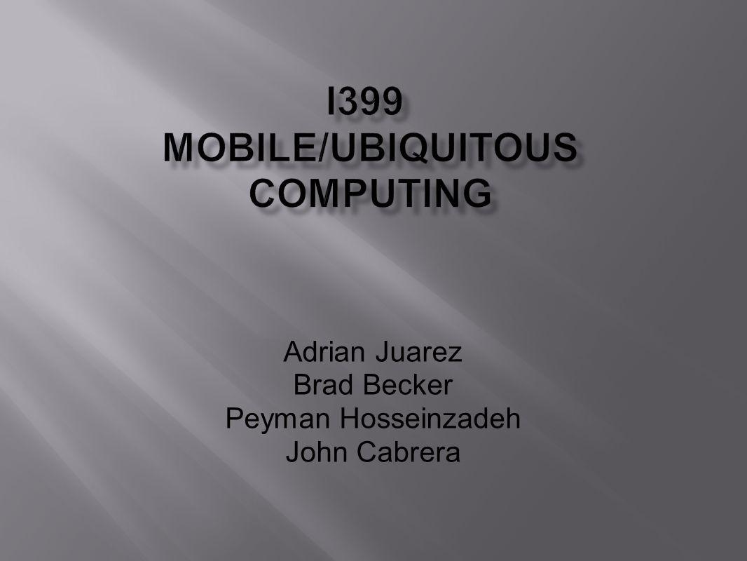 Adrian Juarez Brad Becker Peyman Hosseinzadeh John Cabrera