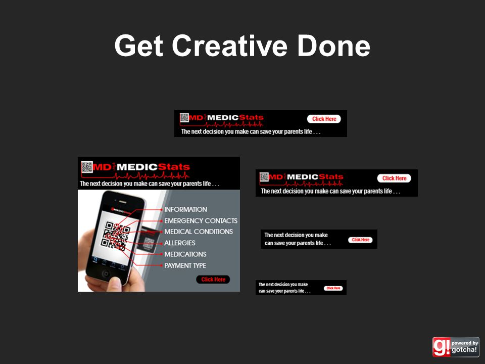 Get Creative Done