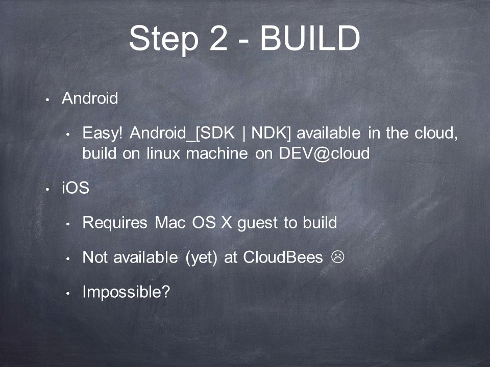 Step 2 - BUILD Android Easy.