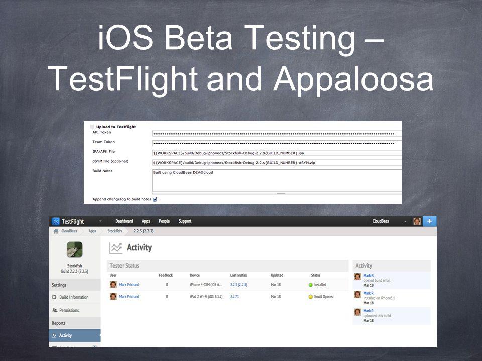 iOS Beta Testing – TestFlight and Appaloosa