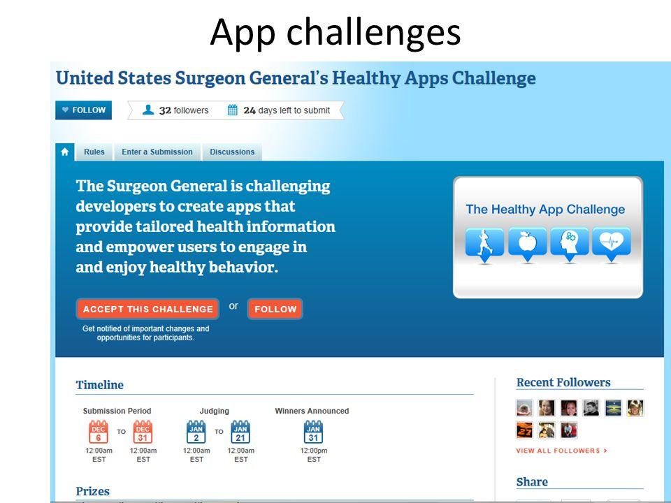 App challenges 49