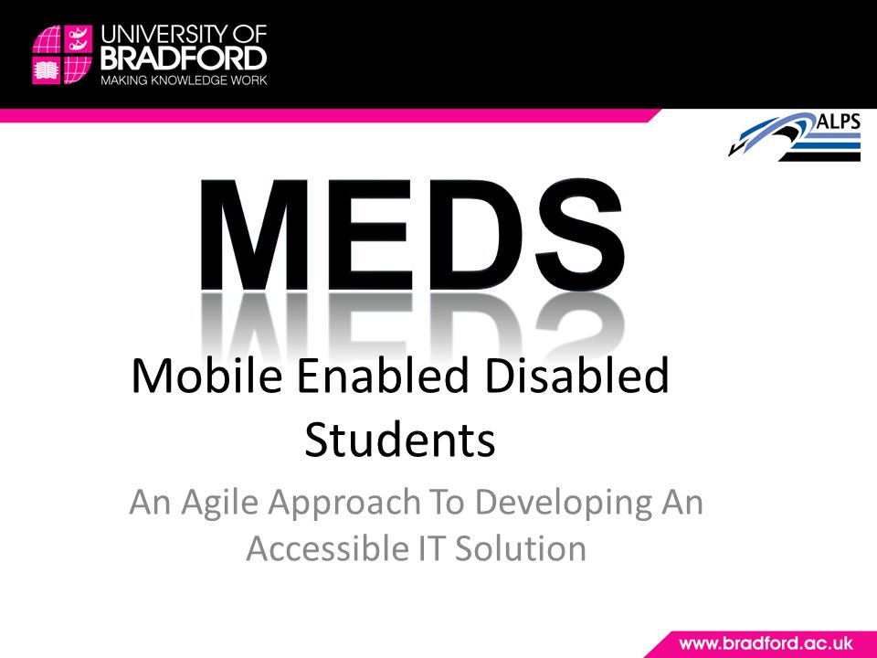 Mobile Enabled Disabled Students An Agile Approach To Developing An Accessible IT Solution