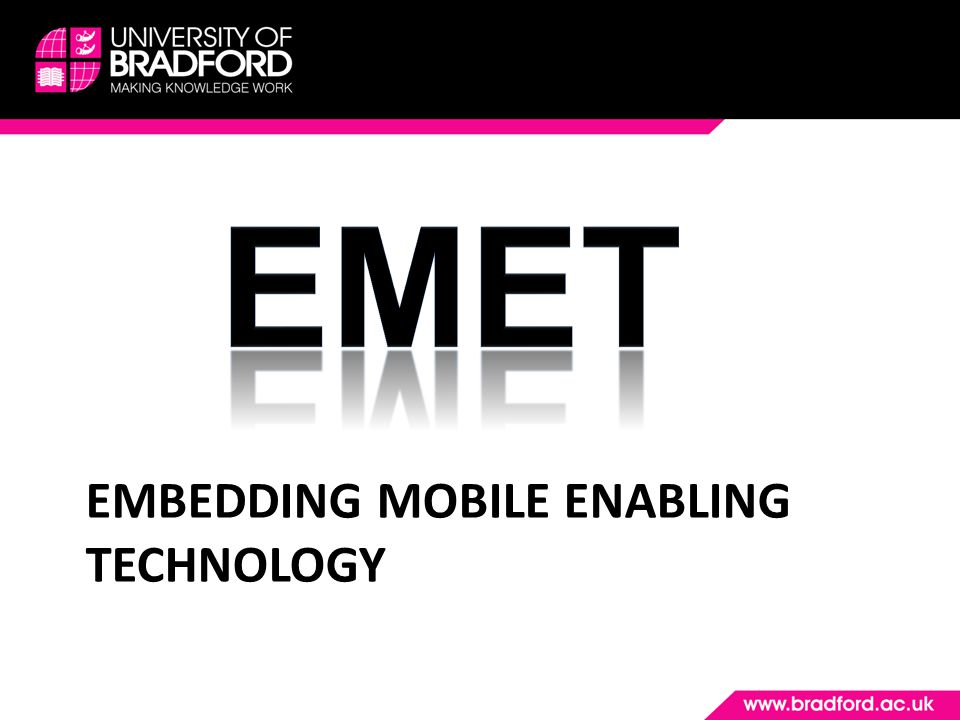 EMBEDDING MOBILE ENABLING TECHNOLOGY