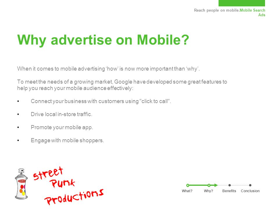 Reach people on mobile.Mobile Search Ads Why advertise on Mobile.