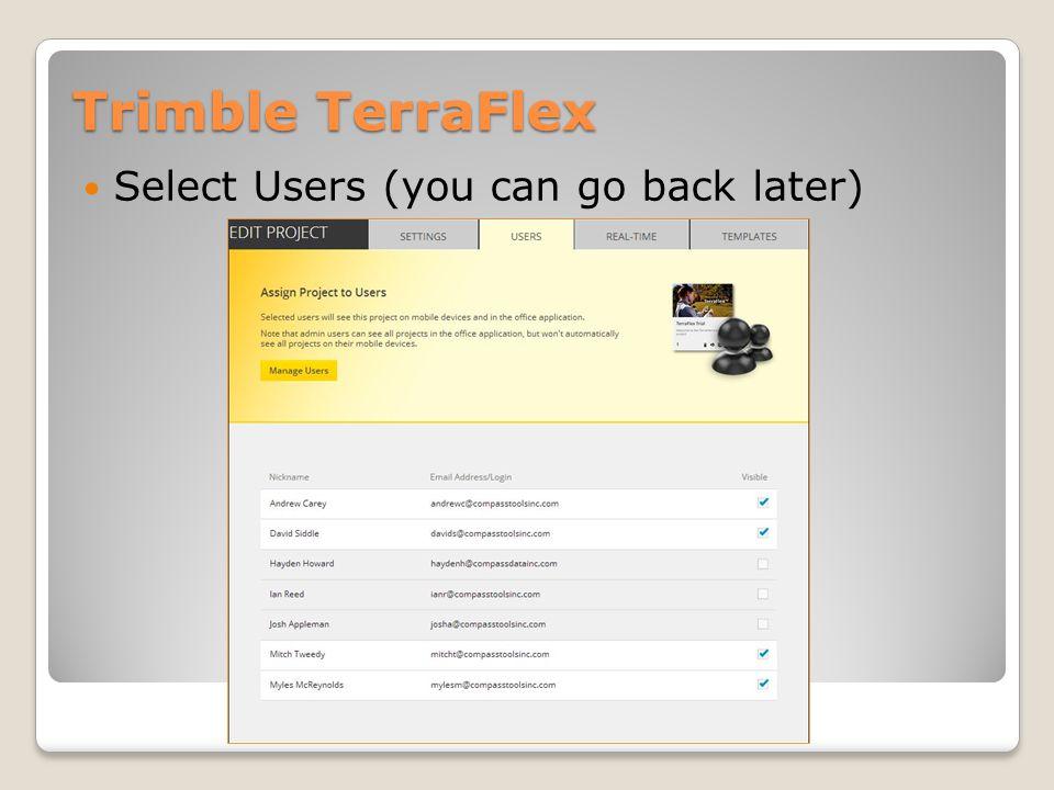 Trimble TerraFlex Edit Form Templates: What to Collect?