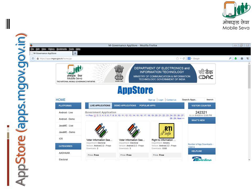 AppStore (apps.mgov.gov.in)