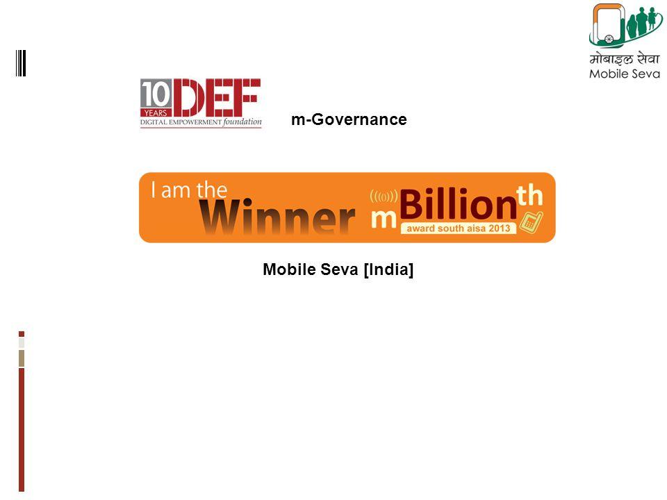 Mobile Seva [India] m-Governance