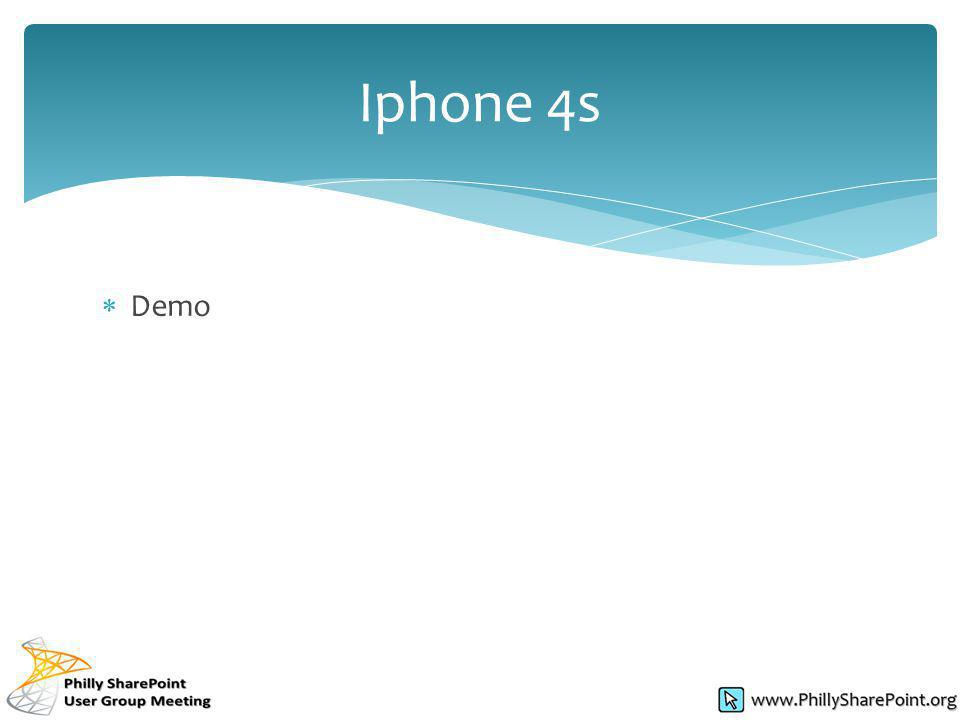 Demo Iphone 4s