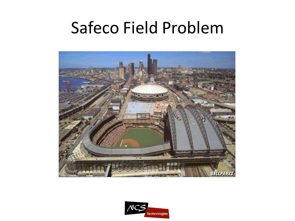 Safeco Field Problem