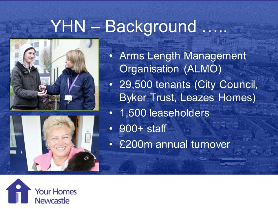 Mobile Working 1 st August 2013 YHN – Background …..