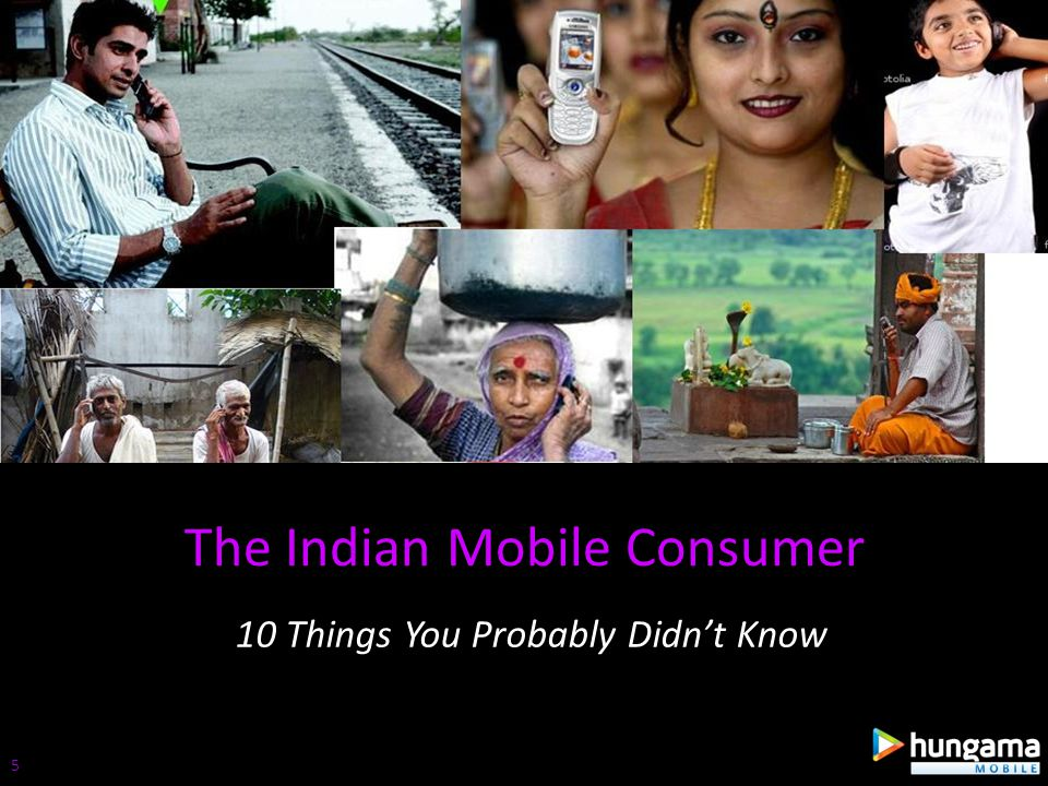 The actual subscriber base is approximately 440 Mn Still larger than the entire population of USA Explains the popularity of the dual SIM device (15% share) Tele-density in urban India has crossed 100% 1.