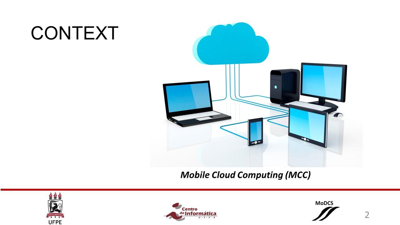 CONTEXT Mobile Cloud Computing (MCC) 2