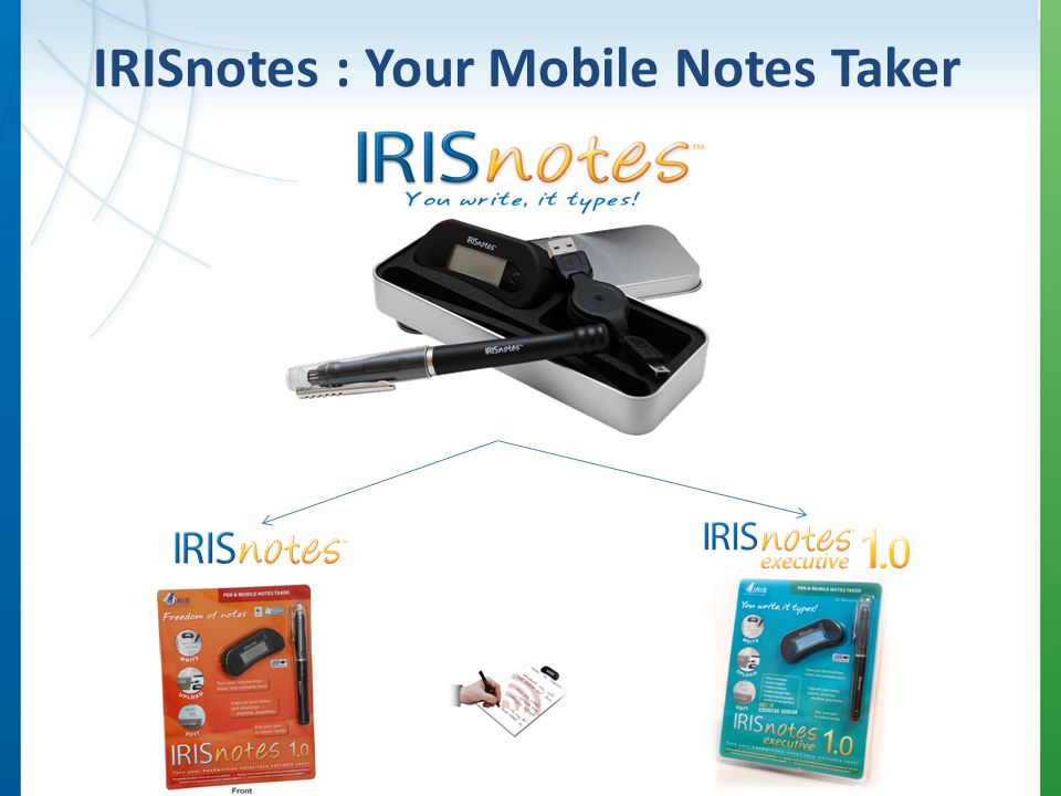 IRISnotes : Your Mobile Notes Taker