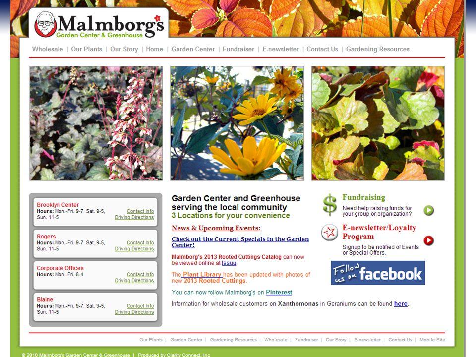 www.MalmborgsInc.com