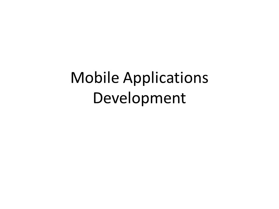 Your next job: Mobile app developer.