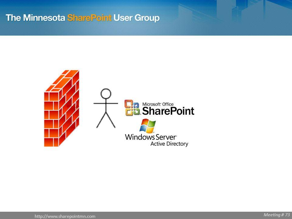 Meeting # 68 http://www.sharepointmn.com Meeting # 73
