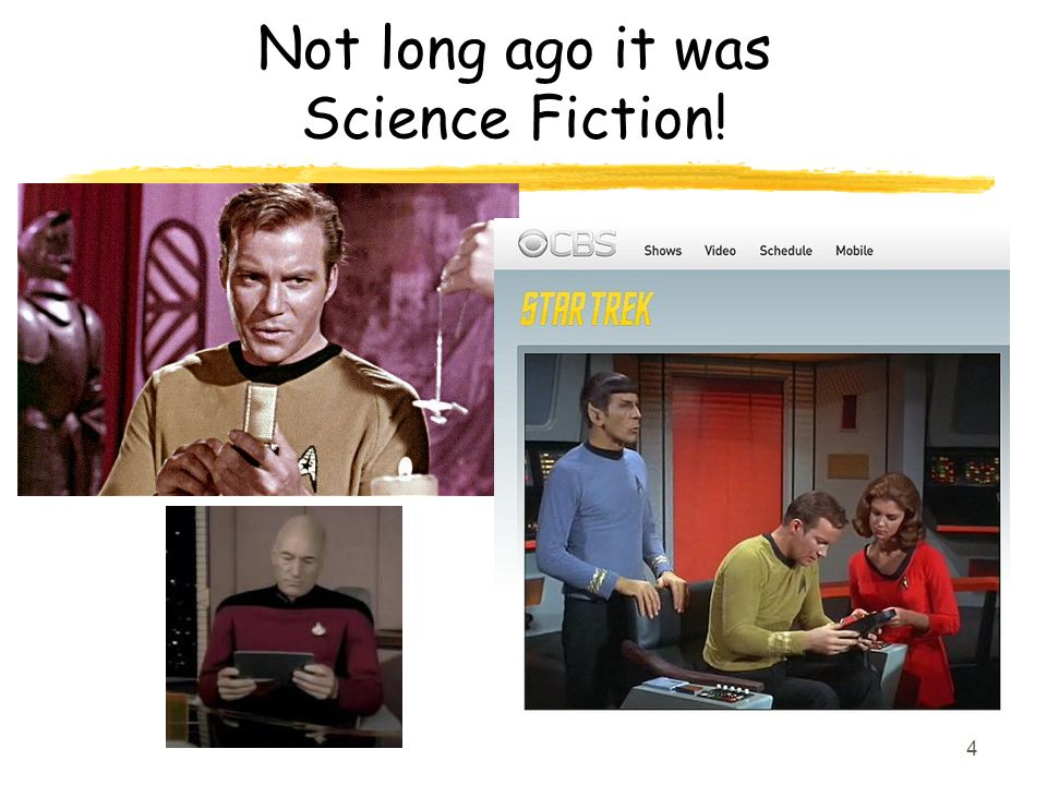 Not long ago it was Science Fiction! 4