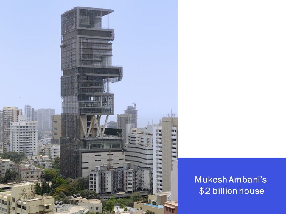 Mukesh Ambanis $2 billion house