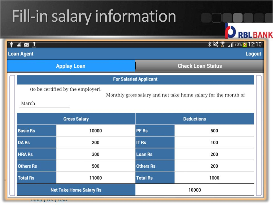 India | UK | USA Fill-in salary information