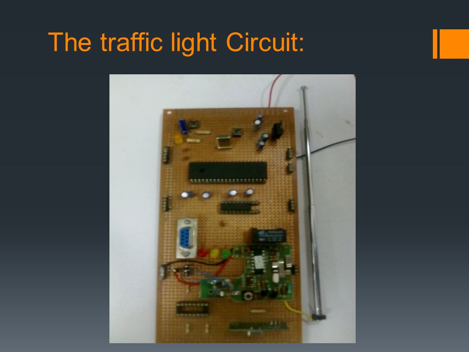 The traffic light Circuit:
