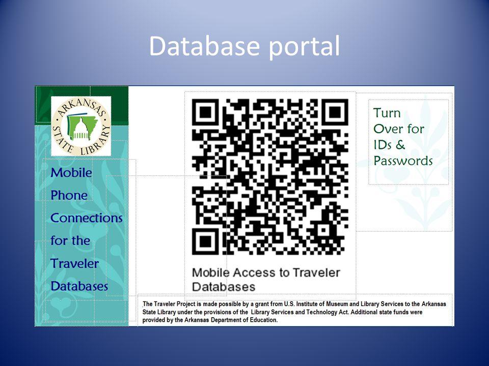 Database portal