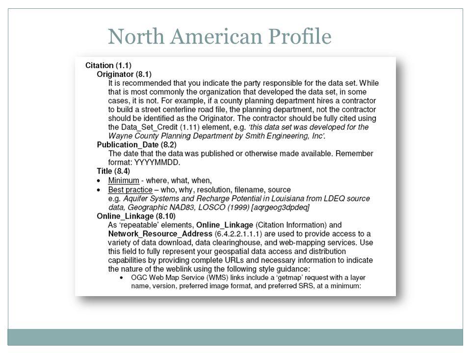 North American Profile