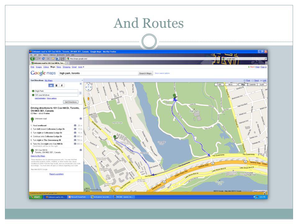 DEMO Downloading GPS Data into a GIS