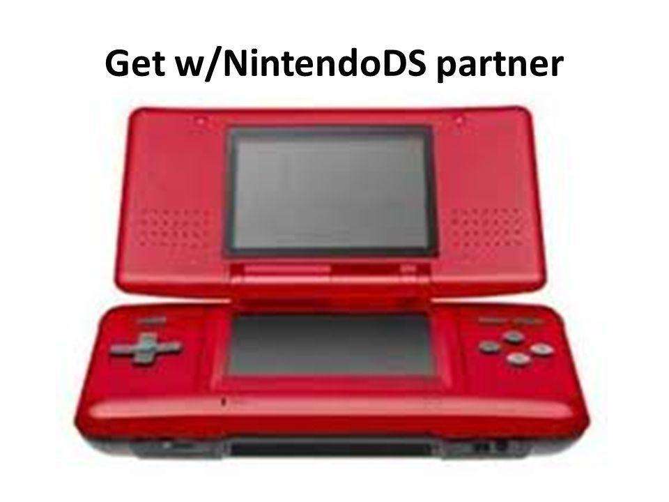 Get w/NintendoDS partner