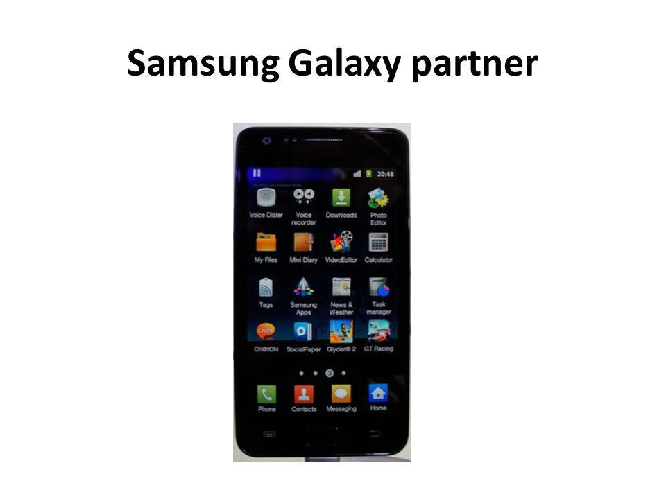Samsung Galaxy partner