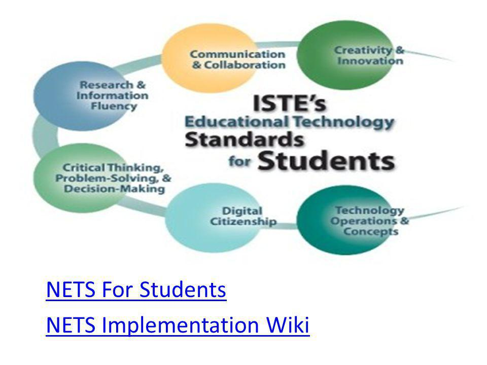 NETS For Students NETS Implementation Wiki