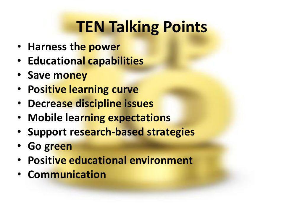 Establish a positive educational environment