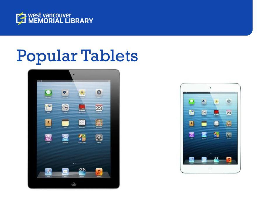 Popular Tablets