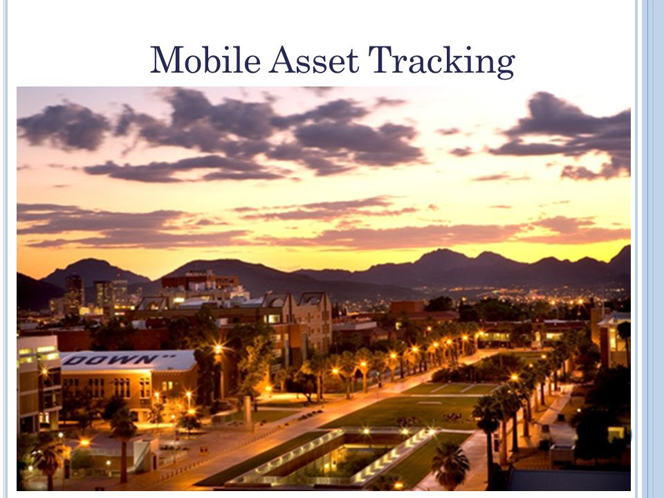 Mobile Asset Tracking