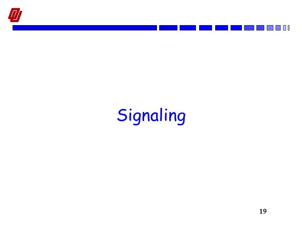 19 Signaling