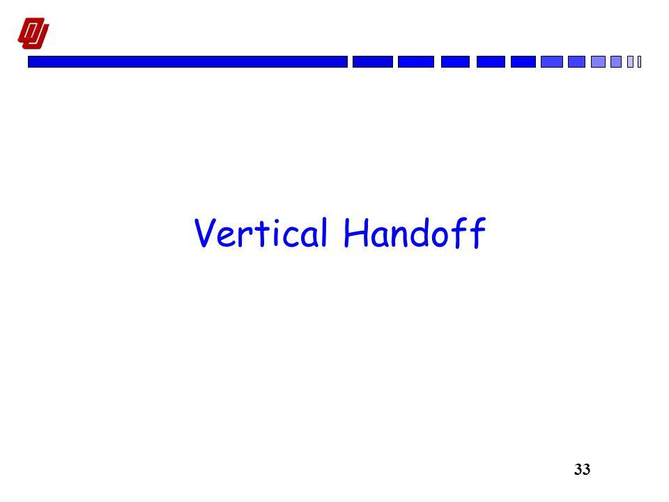 33 Vertical Handoff