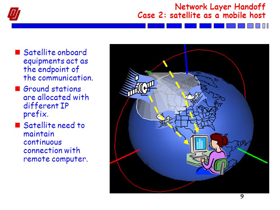 30 Mobile IP: Interoperability with Ingress Filtering Ingress filtering is heavily used in current Internet to prevent IP spoofing and DoS attack.