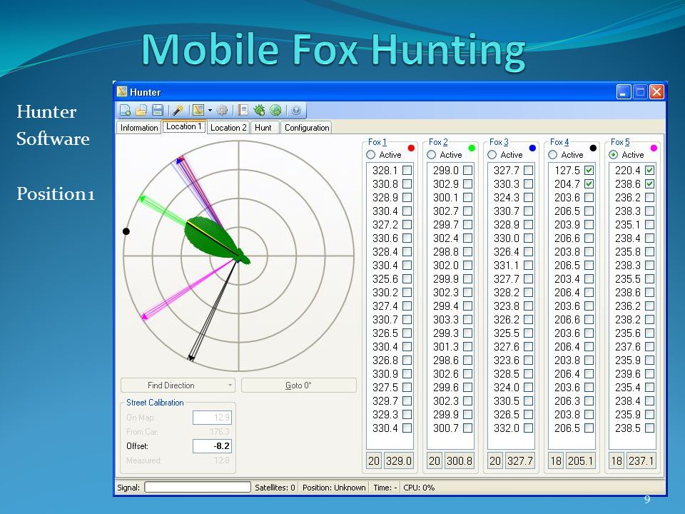 Hunter Software Position 1 9