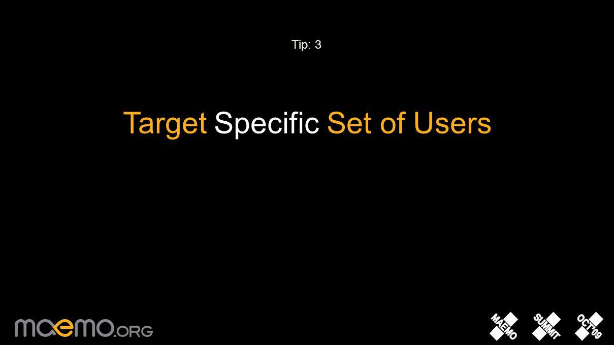 Mobile Widget [ ] Desktop Widget Konfabulator, Desklets, Dashboard, Vista Widget Engine Native APIs Web Widget igoogle, Wordpress, Pageflakes, Faceboo