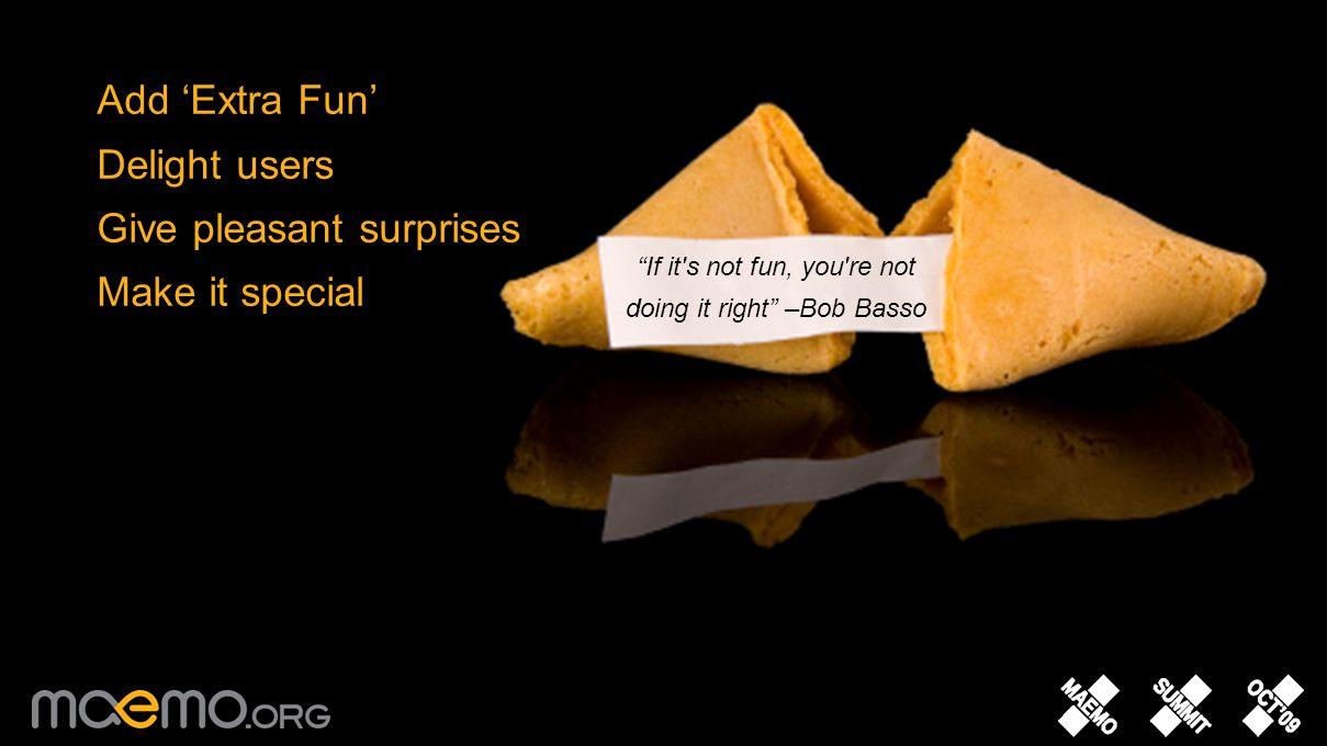 Make it Fun Tip: 10